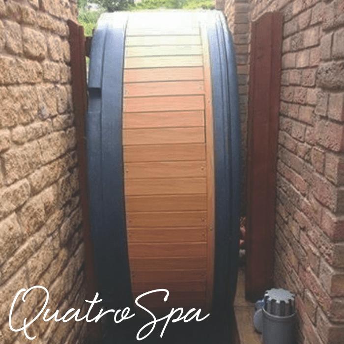 Quatro Spa External Access Image