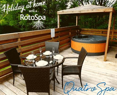 Quatro Spa Holiday at Home with a RotoSpa